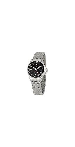 Omega Women's 212.30.28.61.01.001 Seamaster 300M Quartz Black Dial Watch