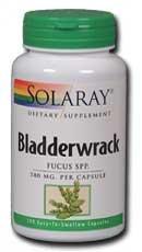 Solaray Bladderwrack, 580 mg, 100 Count
