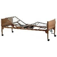 Invacare Value Care Semi-Electric Bed Package - Vc5310 Bed, 6630 Half Rails, And 5185 Innerspring Mattress - Vcpkgivc-1633Vcpkgivc2-1633