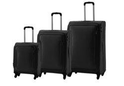 Carlton Aspire 3 Piece Luggage Set - Black