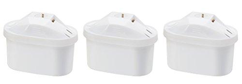 AmazonBasics - Cartuchos de filtrado de agua (3 unidades)