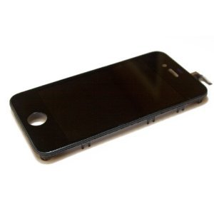 iPhone 4 GSM replacement Digitizer Glass Screen Assembly Kit (With Zeetron Microfiber Cloth, and 6P Tool Kit)