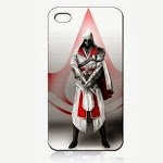 New Items Assassin Creed Assassin's 4 iPhone 5 Classic Hardshell Case Color Black (PC+Silicone)
