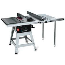 Delta 36 681 10 inch left tilt 1 1 2 horsepower contractor for 10 inch delta table saw