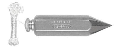 General Tools 790-12 12.5oz Hexagonal Steel Plumb Bob