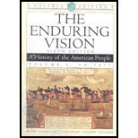 The Enduring Vision: A History of the American People Volume I: To 1877 (Instructor's Edition)