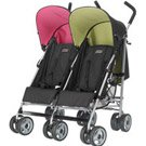 OBaby Apollo Sport Twin - Black / Pink & Lime