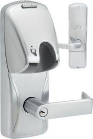 Schlage Ad200Md70-Mg-Rho-626-Ld Offline Mortise Deadbolt Magnetic Stripe Insertion Electronic Lock (