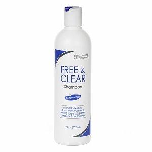 Free  Clear Shampoo for Sensitive Skin 12 fl oz 355 mlB0006FMKG6