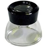 Adorama 8X General Purpose Magnifier Loupe for Photographic Contact Sheets and Negatives