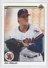 1990 Upper Deck #645 Jim Abbott NM/M (Near Mint/Mint)