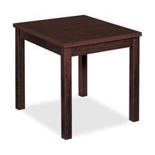 Cheap Basyx BSXBW3140N End Table, Rectangular, 20w x 24d x 20h, Mahogany (BSXBW3140N)