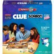 Plan A Family Game Night Hasbro 4 Game Gift Pack - Clue, Sorry, Monoply Deal, Scrabble Slam