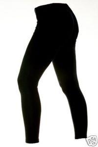 Mens Medium Thermal Virgin Wool Long Johns Ski Leggings Dark Blue