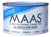 MAAS 1.1lb Can Silver Brass Copper Metal Polish Cleaner