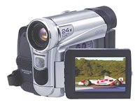 Panasonic NV-GS15EB Digital Camcorder [24 x Optical , DV in / out]