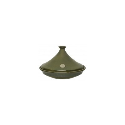 35cm Conical Tagine Colour Olive by Emile Henry