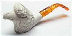 Meerschaum Pipes - Mini Hand Carved Eagle Beak