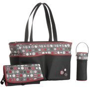 Graco 3-Piece Diaper Bag Set, Dotastic