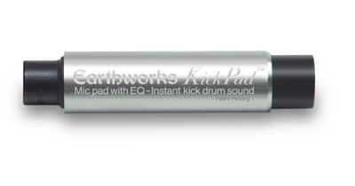 Earthworks Kp1 | Kickpad Microphone Level Kickdrum Processor