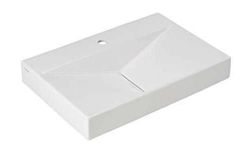 Waschtisch Flux   65 cm   Weiß   Waschbecken