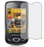 PHONE PROTECTION. 6 IN 1 PACK - SAMSUNG GT S3370 ACTON [STAR NANO 3G] - ANTI SCRATCH CLEAR LCD SCREEN PROTECTOR. UK-GOODS