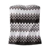 Missoni for Target® Tankini Swim Top - Black/White/Gray Zigzag Print