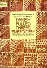img - for Danish Pulled Thread Embroidery=Sammentr Kssyning: With English and Danish Text book / textbook / text book