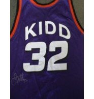 Signed Kidd, Jason (Phoenix Suns) Authentic Champion Jersey (Size 48) autographed by Powers Collectibles