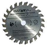 BATAVIA TCT Sägeblatt 24 Zähne, 85mm