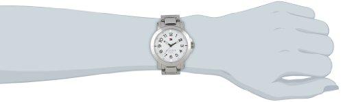91d5303d1 Tommy Hilfiger Liv - Reloj de cuarzo para mujer, con correa de acero  inoxidable, color plateado marca Tommy Hilfiger