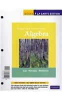 Beginning and Intermediate Algebra, Books a la Carte Plus...