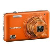 Olympus VG-160 14MP Digital Camera with 5x Optical Zoom (Orange)