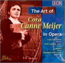 The Art of Cora Canne Meijer in Opera by Wolfgang Amadeus Mozart, Giuseppe Verdi, Georges Bizet, Jules Massenet and Pyotr Il'yich Tchaikovsky