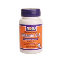 Now Foods Vitamin D3 by NOW