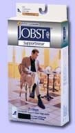 Jobst Men's 's 30-40 mmHg Closed Toe Knee High Support Socks - 115117 - Brown - Medium