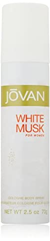 White Musk for Women Body Spray by Jovan 2.5 Fluid Ounce