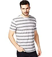North Coast Pure Cotton Feeder Block Striped T-Shirt