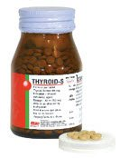 Thyroid-S Natural Desiccated Thyroid Extract, 60mg Tablets, 120 Pack, by Sriprasit Pharma Co., Ltd., FREE Registered Shipping, We Guarantee that You Will Receive It or Your Money Back.