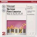 echange, troc  - Mozart : Les Grands concertos pour piano, vol. 2 / Concertos nos 9, 15, 22, 25 & 27 (Coffret 2 CD)