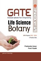 GATE Guide Life Science Botany 2015