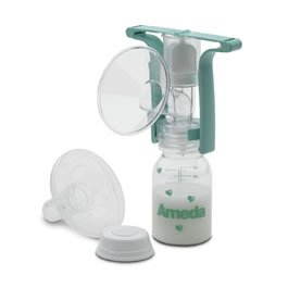 Ameda One Hand Breast Pump front-966125