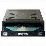 I-O DATA機器 ATAPI対応内蔵型 DVDスーパーマルチドライブ ブラック 2層DVD±R10倍速 DVR-H42LEB