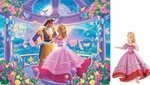 Pretty Princess + Papo Princess Jigsaw Puzzle  35pc