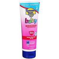 Banana Boat Baby Sunblock, Tear Free UVA & UVB Protection SPF 50, 8 fl oz
