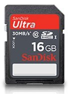 SanDisk Ultra SDHC Class 10 Flash Memory Card 30MB/s by SanDisk