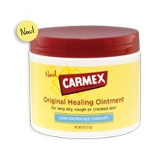 Carmex Healing Ointment Lotion Concentrated Therapy Dry Roug