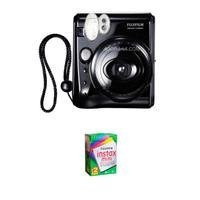 Fujifilm Instax Mini 50S Instant Photo Camera Kit, with Fujifilm Instax Mini Instant Daylight Film, Twin Pack, 20 Exposures, ISO 800.