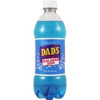 Dad's Blue Cream Soda 20 FL OZ (591ml) x 1