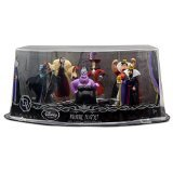 Disney Store play set playset Villains Malefica Ursula Crudelia De Mon